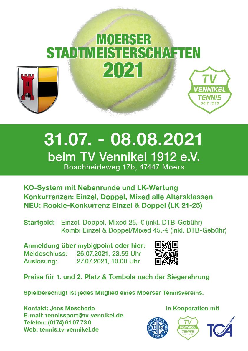 Moerser Stadtmeisterschaften 2021